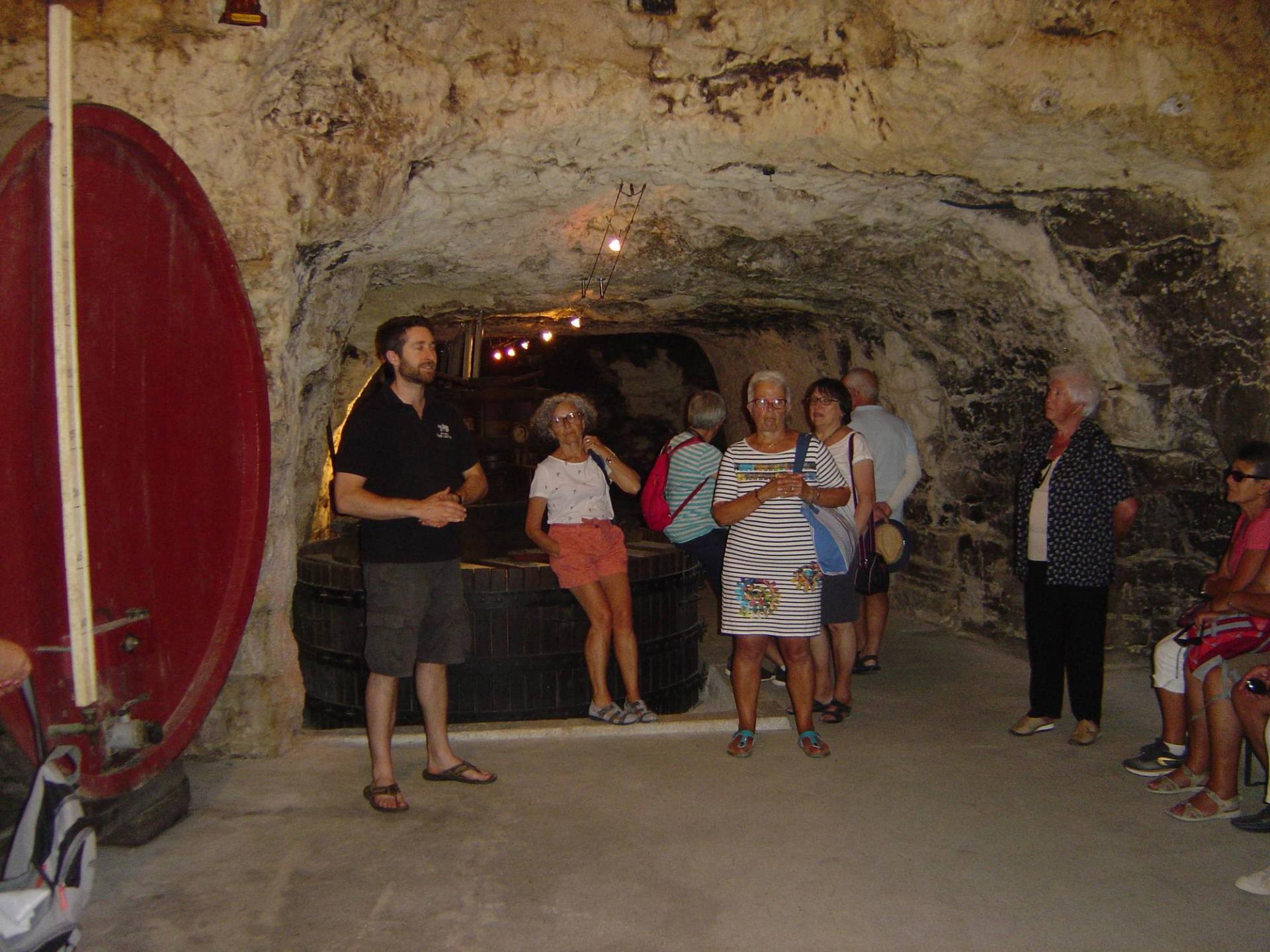 visite d'une cave